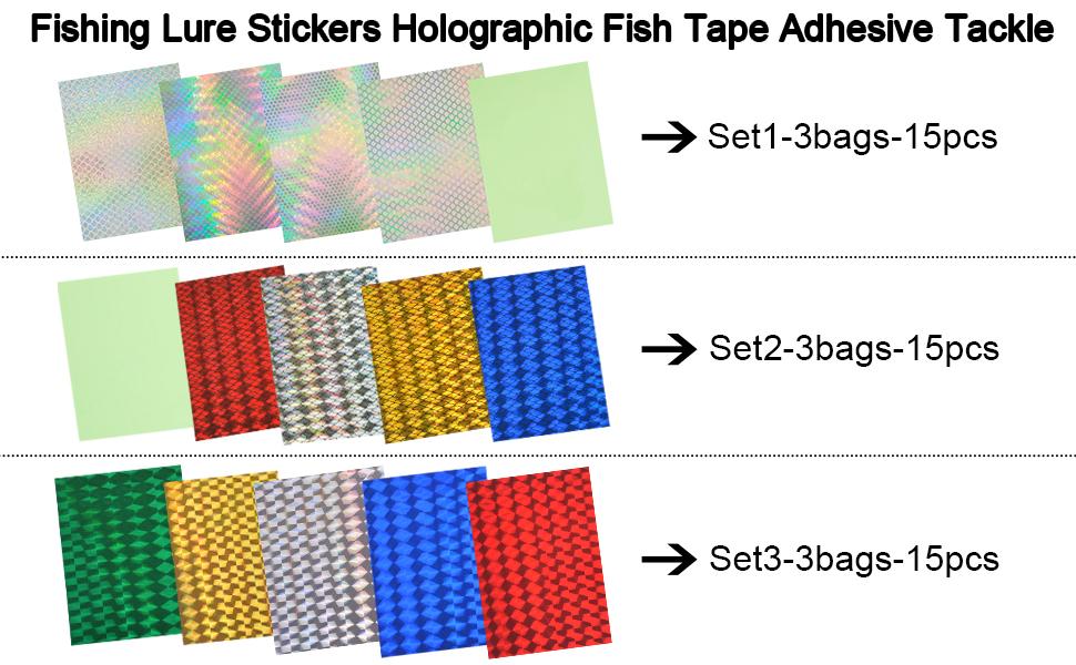 DIY lure sticker