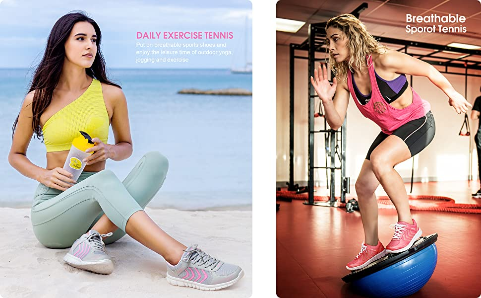 Daily exercise tennis