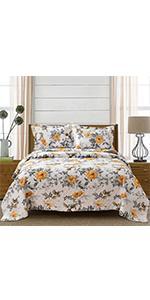 floral bird bedding