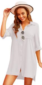 Womenamp;#39;s Beach Cover Up Shirt