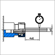 Diagram of Inspecting the RPM of ER Collet Nut and ER Collet