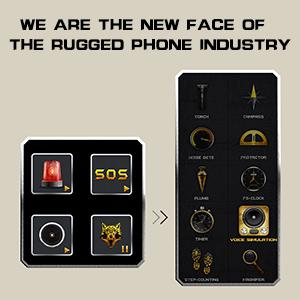 EMERGENCY SOS,CUSTOMIZABLE BUTTON advance software,secure cell phone