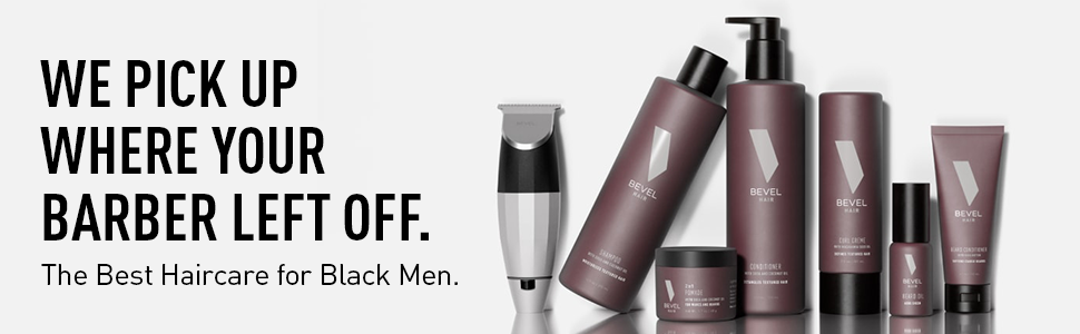 We pick up where your barber left off. The best haircare for Black men.