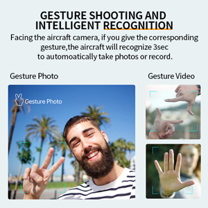 Gesture shooting and intelligent recognition