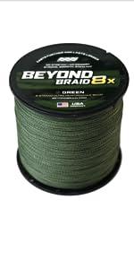 green 8 strand braided line