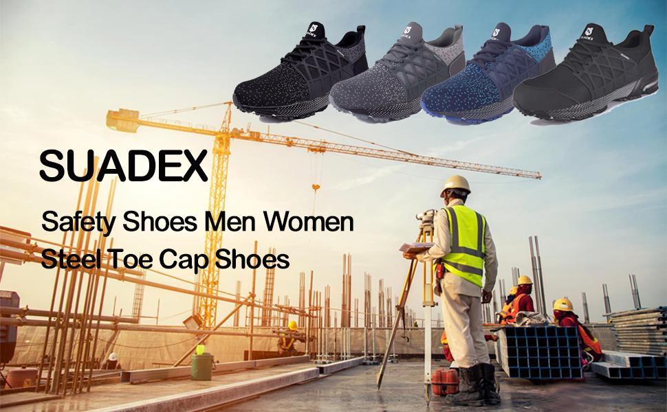 SUADEX Safety Shoes Men Women