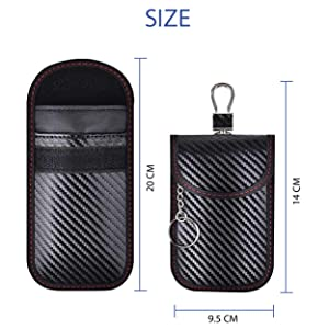 pouch size