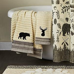 SKL Home Aspen Lodge Bath Decor