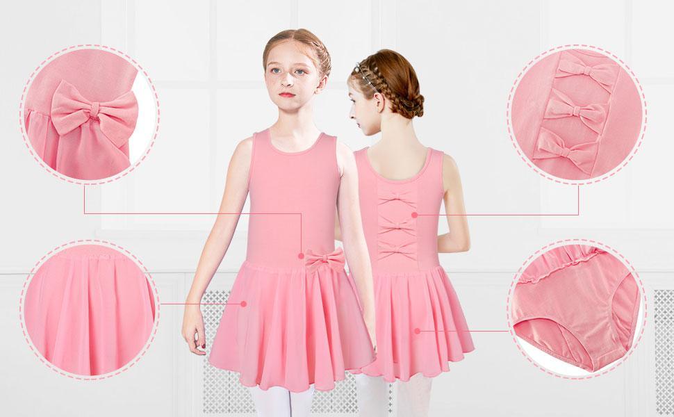 ballet pink dress for todder girls dance outfit ballerina dress dancewear for ballet class