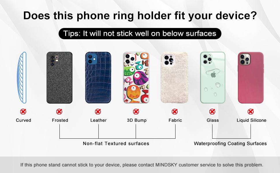 phone kickstand grip
