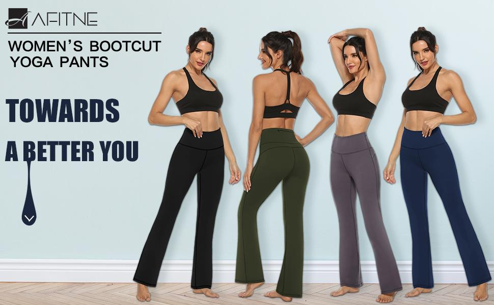 yoga pants bootcut 1