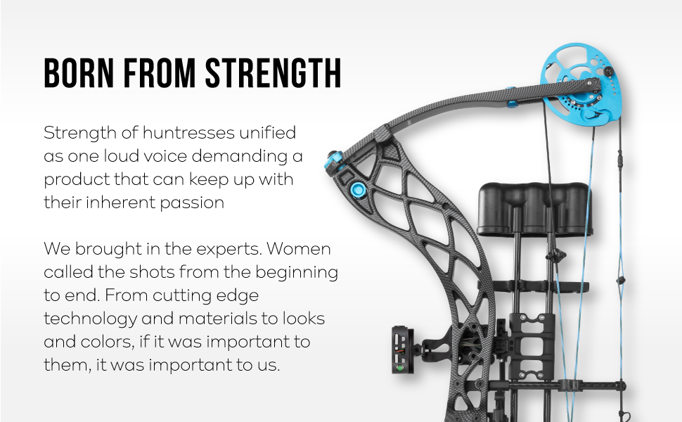 archer hunting womens recurve carbon fiber metal plastic skeletonized huntress cutting black quiver