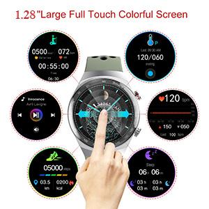 """1.28 """" Color Full Touchscreen"""