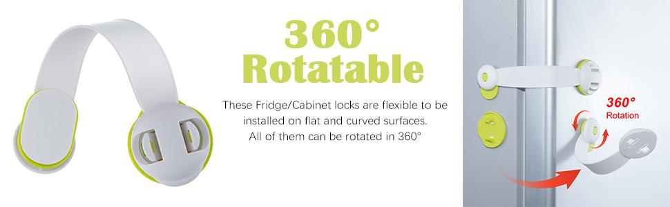 child safety refrigerator locks