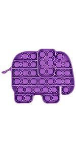 Push Pop Bubble Sensory Fidget Toy Elephant