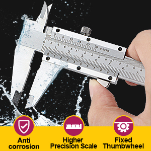 Precise measurement tools - Each basic unit is divided into more parts