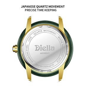 Precise Japanese quartz movement watch