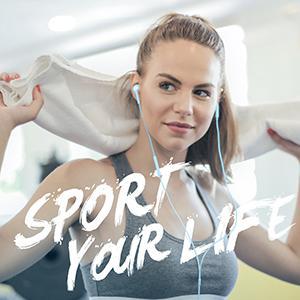 Sport earphones, earphone, earphones, sport your life, wireless earphone
