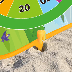 Colorful Ground Pegs Stakes for Fixing Game Set