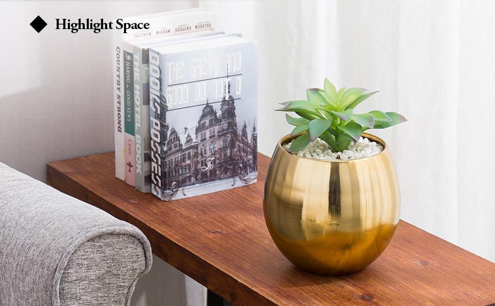 brushed metal vases metal vases for decor metal planter pot