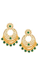 yellow chimes earrings