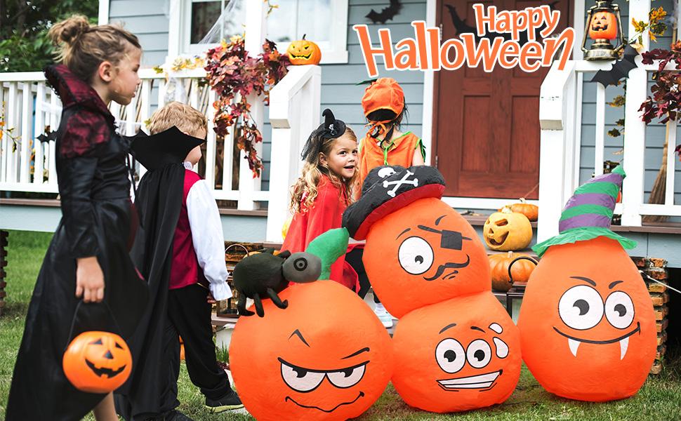 Halloween inflatables pumpkin