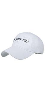 New York City Baseball Cap Washed Retro Dad Hat