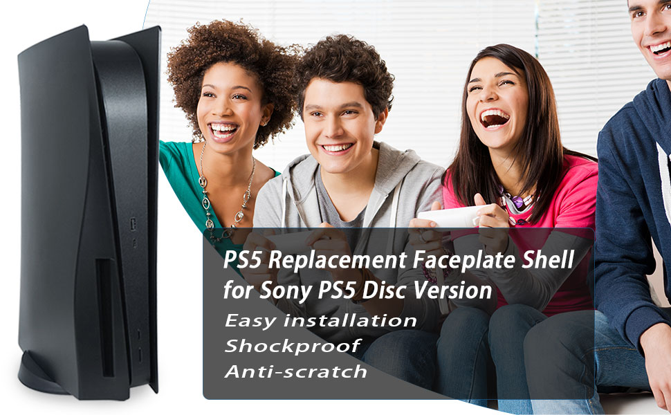 ABS PS5 Console Face Plates Cover