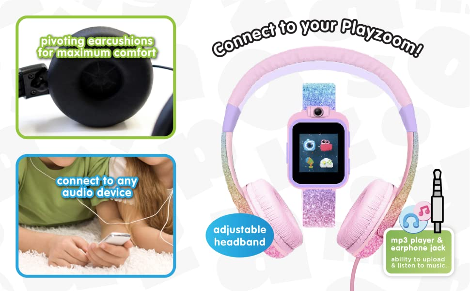 Connect Headphones to your Playzoom!
