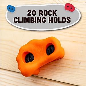 20 Rock Climbing Holds