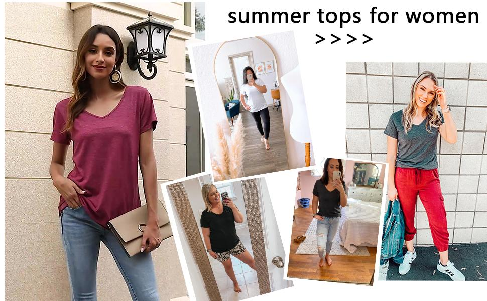 Tunic Tops for Leggings for Women Casual Long Sleeve T Shirts Fashion 2020