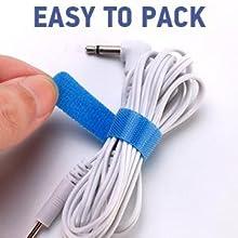 portable dual channel tens ems unit
