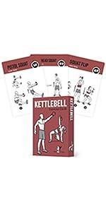 NewMe Fitness Kettlebell Exercise Cards