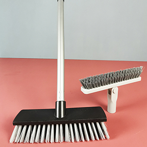 """Two Brush Head  With 50"""" Handle"""