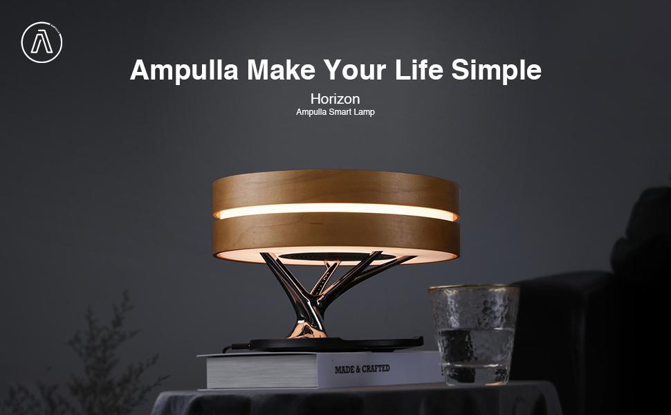 Ampulla Horizon  Bedside Lamp