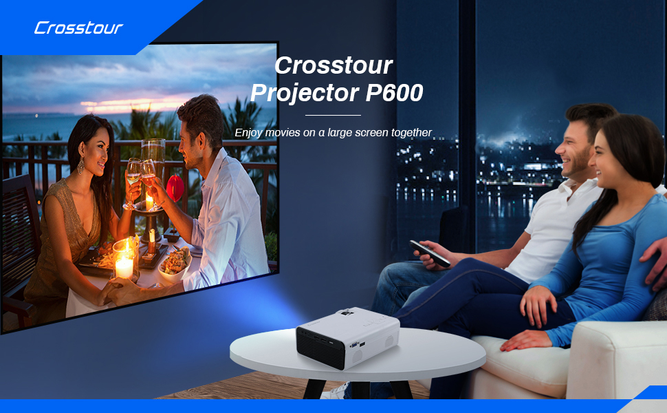 Video movie lcd projector