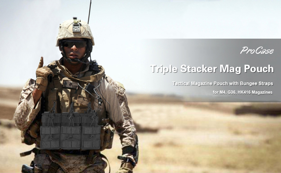 triple stacker mag pouch