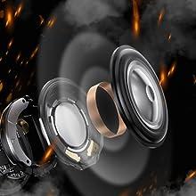 Hi-Fi Stereo Sound & 360°stereo surround sound