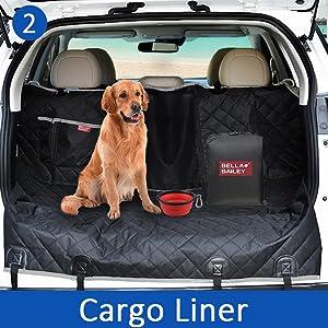 SUV dog cargo liner