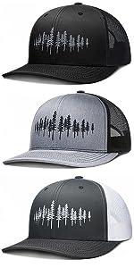 LARIX Tamarack Forest Trucker Hat