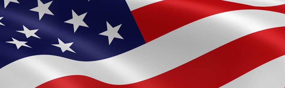 Motorcycle US flag