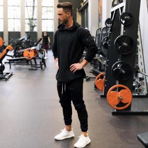 mens gym hoodie