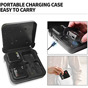 Portable Carrying Charging BOX