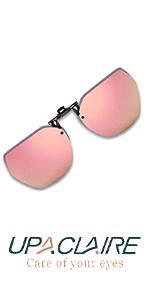 Clip-on Flip up Sunglasses Polarized UV 400 glasses over prescription for men and women……