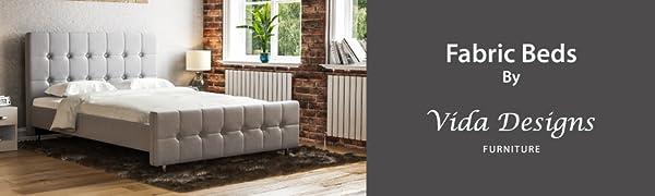 Fabric Beds By Vida Designs