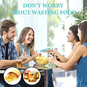 Don't worry about wasting food