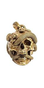Skullamp;Snake