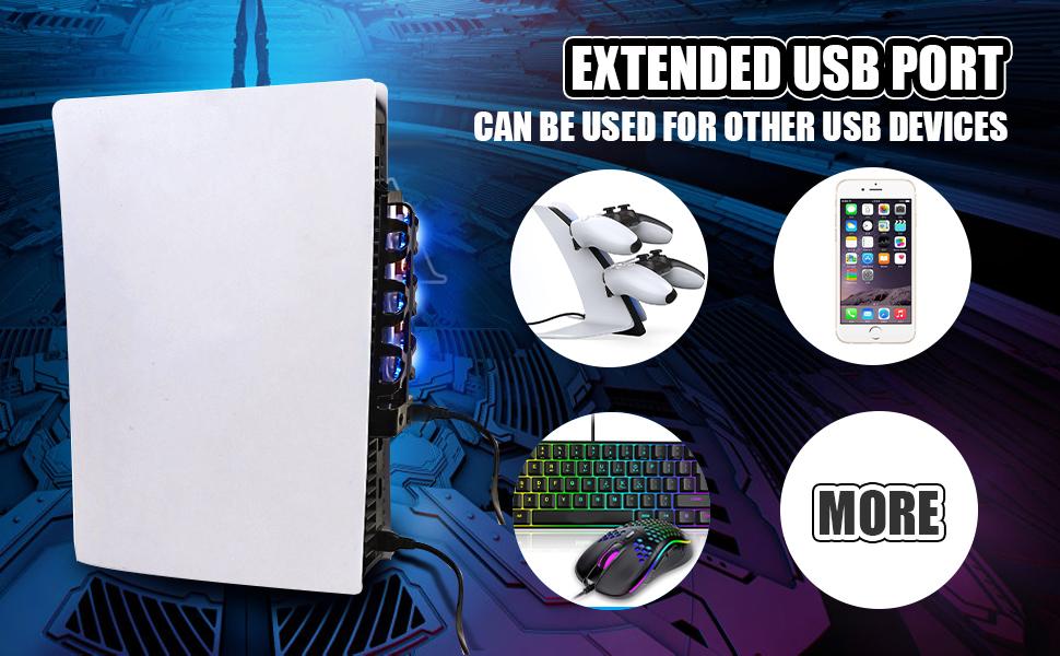 Extended USB port