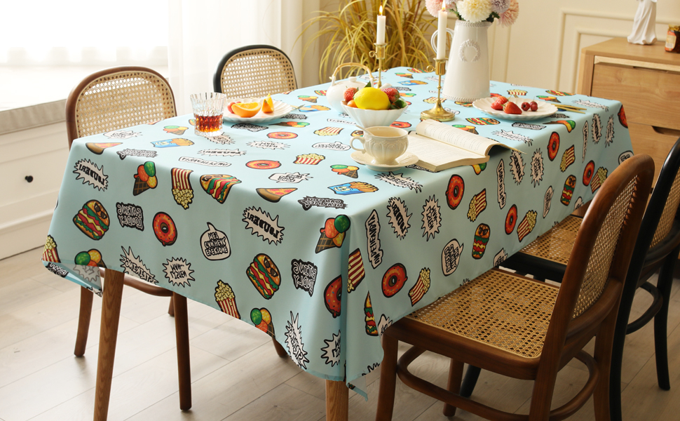 Joyfol Day Eating Tablecloth