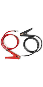 power inverter cables temporary alligator clamp crocodile gator jump jumper boost booster